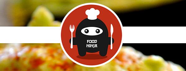 Logotyp för matbloggen Food Ninja